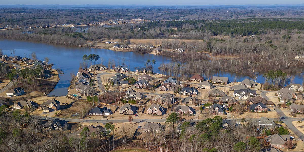 Northshores Development in Hurricane Lake
