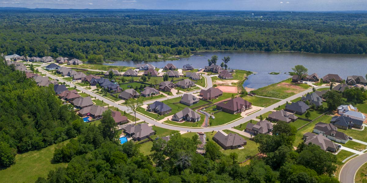 Westshores Development in Hurricane Lake